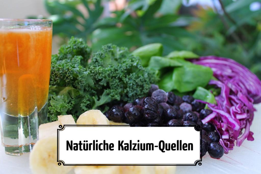 Natürliche Kalzium-Quellen